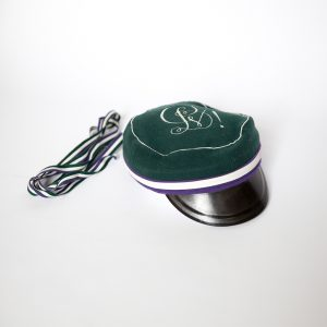 """Hat and shoulder strap of the Student Corporation """"Plienas"""""""