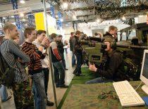 Kauno technologijos universiteto Gynybos technologijų instituto ekspozicija mokslo ir studijų parodoje, 2009 m.