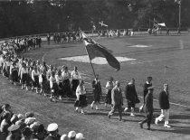 Lietuvos jaunimo delegacija (paskutinė) Pabaltijo tautinės kultūros šventėje Taline, 1926 m.