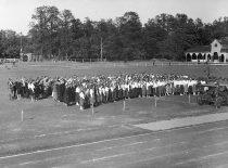 Lietuvos jaunimo delegacija Pabaltijo tautinės kultūros šventėje Taline, 1926 m.