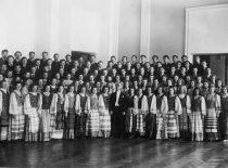 Vytauto Didžiojo universiteto choras, vadovaujamas Konrado Kavecko, 1940 m.
