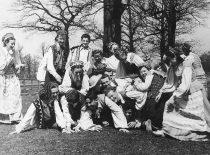 KPI dainų ir šokių ansamblis, 1956 m. (K. Sasnausko nuotr.)