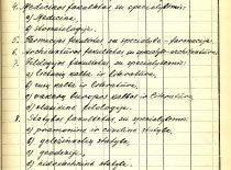 1947 m. gruodžio 9 d. SSRS Aukštojo mokslo ministro S. Kaftanovo įsakymas Nr. 1814 dėl Kauno valstybinio universiteto struktūros pakeitimo, kuriuo buvo įkurtas Cheminės technologijos fakultetas. (Originalas – KTU archyve)