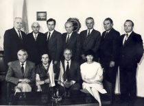 Council of KPI Faculty of Chemical Technology in the Deans office, 1983 m.