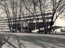 New chamber of the Faculty of Chemical Technology and block of laboratories were built in 1970–1975 (architect V. Dičius).