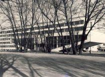 1970–1975 m. pastatyti nauji Cheminės technologijos fakulteto rūmai ir laboratorijų korpusas (architektas V. Dičius)