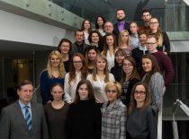 Team of the Institute of Synthetic Chemistry, 2017. Director – habil. dr. Algirdas Šačkus. (Photograph by Jonas Klėmanas)
