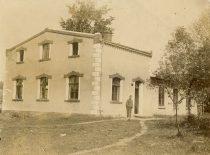 Printing house of M. Jankus in Bitėnai, 1930. (Original is in KTU Library)