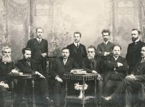 Council of the Lithuanian Scientific Society 1911–1912. .(Original is in KTU Library)