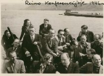 A. Damušis at the restoration conference of the Ateitis Federation in Rhine, 1948. (From the archive of A. Damušis family)