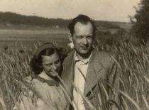 A. Damušis with his wife Jadvyga, summer of 1939. (From the archive of A. Damušis family)