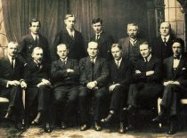 Social Democratic group of the Constituent Assembly, 1921.