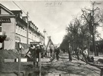 The construction works of the sewage and water supply system in Kaunas 1928.