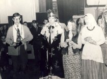 Christening of the freshmen at the faculty of Engineering Economics, 1975.