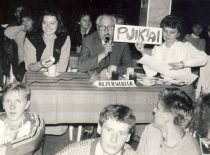 Festival of economists, 1988. In the assessment commission – Dean Prof. B. Martinkus.