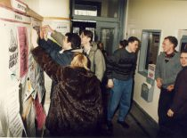 Students of the faculty, 1996.