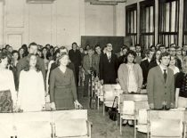 Graduation, 1975.