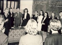 Last bell at the faculty of Engineering Economics, 1973.