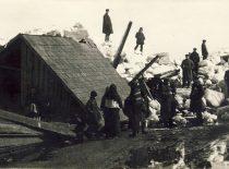 Flood in Kaunas, 1926. (Original is in KTU Library).