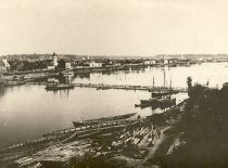 Kaunas, 1915. Photograph received from prof. Eduardas Volteris. (Original is in KTU Library).