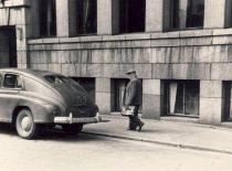 Prof. K. Vasiliauskas came to work at the Hydrotechnical Faculty of Kaunas Polytechnic Institute, 1951.