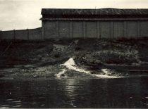 Drainage entry at Petrašiūnai, 1959. Photograph by D. Palukaitis (Original is in KTU Museum).