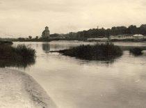 Nemunas, 1958. Photograph by D. Palukaitis (Original is in KTU Museum).