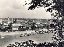 Kaunas from Aleksotas hill. Photograph by M. Smečechauskas (Original is in KTU Library).
