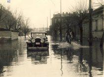 Flood in Kaunas, 14-16 April 1931. (Original is in KTU Library).