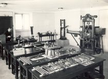 Laboratory of Strength of Materials in 1938.
