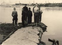 Summer by Nemunas, 1958. Photograph by D. Palukaitis (Original is in KTU Museum).