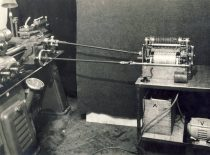 Device – cinemator – invented by Prof. K. Vasiliauskas, 1944.