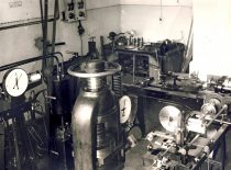 Mechanical laboratory of strength of materials, established in 1923.